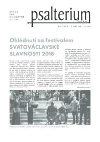 Psalterium 2018/4