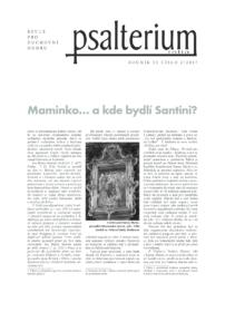 Psalterium 2017/2